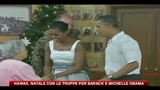 Hawaii, Natale con le truppe per Barack e Michelle Obama