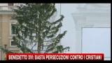 26/12/2010 - Benedetto XVI: basta persecuzioni contro i cristiani