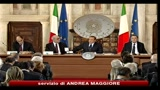 Berlusconi: governeremo fino alla scadenza della legislatura