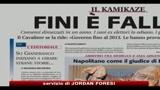 Editoriale Libero, Consolo: presunto attentato a Fini? Una Barzelletta