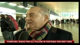 28/12/2010 - Fiumicino, disagi per gli italiani in partenza per New York
