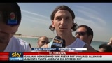 Djokovic e Ibrahimovic intervistati a Dubai