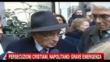 Strage di Egitto, le parole di Napolitano
