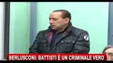 Caso Battisti, Berlusconi:  Solidariet del Governo a Torregiani