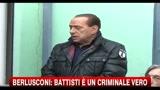 Caso Battisti, Berlusconi:  Solidarietà del Governo a Torregiani