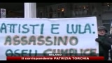 Battisti, proteste davanti al consolato del Brasile