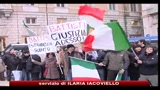 Battisti, sit-in davanti all'ambasciata del Brasile a Roma