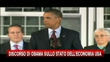 Economia USA, Obama: positivi sgravi fiscali per assunzioni