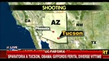 Sparatoria a Tucson, la Polizia ha fermato 11 sospetti
