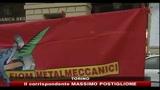 Fiat, Fiom in piazza per il no a Mirafiori