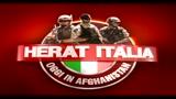 Afghanistan, un mercatino all'interno della base italiana