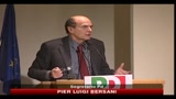 FIAT, Bersani: le parole di Berlusconi sono vergognose
