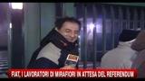 Fiat, i lavoratori di Mirafiori in attesa del referendum