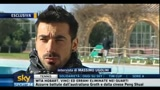 13/01/2011 - Napoli, Lavezzi felice per Cavani