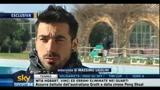 13/01/2011 - Napoli, Lavezzi felice per Cavani