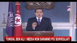 Tunisia, Ben Ali: i media non saranno pi sorvegliati