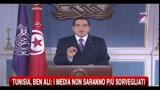 Tunisia, Ben Ali: i media non saranno più sorvegliati