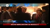 14/01/2011 - Fiat, Berlusconi: stiamo con Marchionne