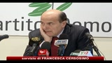 16/01/2011 - Ruby, Bersani: il video di Berlusconi è vergognoso
