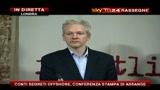 2 - Conferenza Wikileaks, Assange: conti segreti offshore