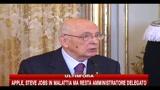 Tunisia, Napolitano: l'UE dia risposte concrete e convincenti