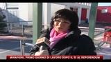 17/01/2011 - Mirafiori, primo giorno di lavoro dopo il sì al referendum