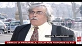 17/01/2011 - Strage di Primavalle, Lollo non risponde al PM