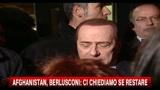 18/01/2011 - Afghanistan, Berlusconi ci chiediamo se restare