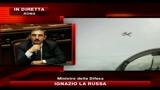 20/01/2011 - La Russa: chiesto a Petraeus aumento livello di sicurezza