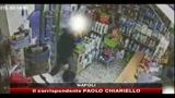 Napoli, videocamere aiutano l'arresto del rapinatore