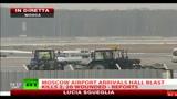 Mosca, kamikaze all'aeroporto Domodevo: 31 morti e 100 feriti