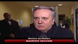 Parole di Bagnasco, dichiarazioni di Sacconi e Casini