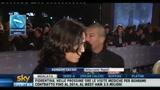 25/01/2011 - Entusiasmo Napoli, Cavani e De Laurentiis