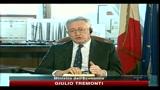 Federalismo, Tremonti: è un processo irreversibile