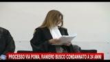 Processo Via Poma, Raniero Busco condannato a 24 anni