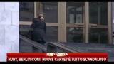 26/01/2011 - Ruby: altre 300 pagine arrivate alla procura di Milano