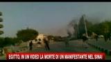 Egitto, in un video la morte di un manifestante nel Sinai