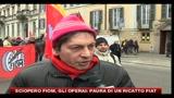 28/01/2011 - Sciopero FIOM, gli operai: paura di un ricatto dalla FIAT