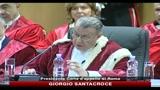 Inaugurazione anno giudiziario: Santacroce e Alfano