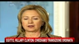 Egitto, Hilary Clinton: chiediamo transizione ordinata