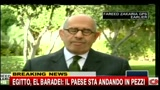 Egitto, El Baradei: il paese sta andando in pezzi