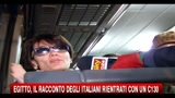 Egitto, il racconto degli italiani rientrati