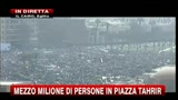 Egitto, mezzo milione di persone in piazza Tahrir