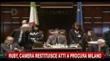 03/02/2011 - Ruby, Camera restituisce atti a Procura di Milano