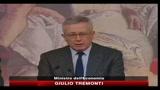 Federalismo, Tremonti: grande e storia riforma strutturale