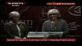Raduno libert e giustizia: intervento delle figlie di Enzo Biagi