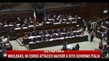 06/02/2011 - Fini: Berlusconi sembra un grammofono del secolo scorso