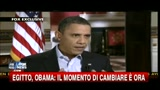07/02/2011 - Egitto, Obama: il momento di cambiare  ora