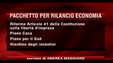 Oggi il governo vara il pacchetto della ripresa