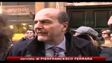 Governo, Bersani: misure astratte non fanno neanche solletico